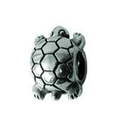 Piccolo Schmuck Schildkröte Silber Anhänger, Charm, Bead, APG 003 von Piccolo das Original