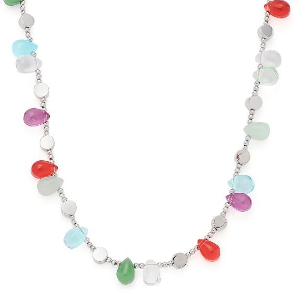 Leonardo Jewels 45 Sicilia, Edelstahl / Glas 021157