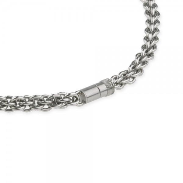 Ernstes Design EDvita Kette K122 Edelstahl mit Magnetverschluss
